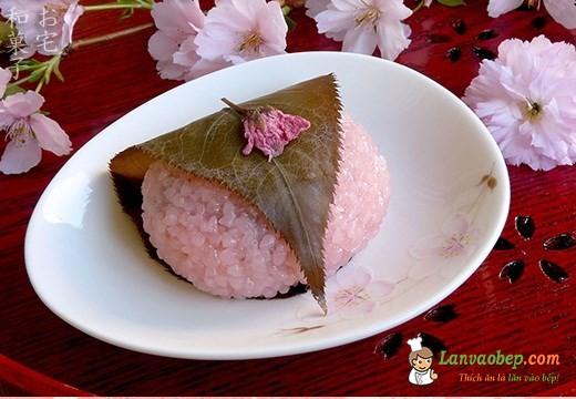 Cách làm bánh trung thu Nhật Bản - Sakura Mochi