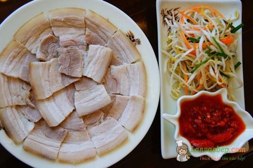 Mẹo luộc thịt lợn ngon không mất chất dinh dưỡng