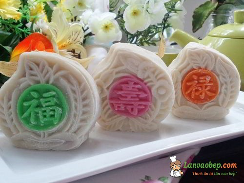 Bánh dẻo Nhật Bản ngọt thanh hấp dẫn mùa trung thu