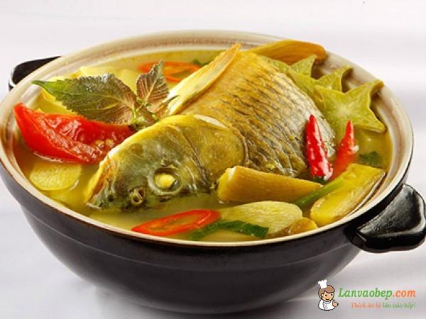 Ngon mỗi ngày với món cá chép bung