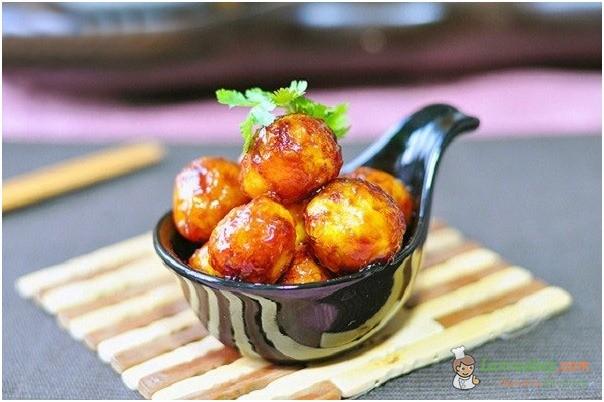 Trứng cút kho mặn, món ăn dễ làm cho bé ngon cơm