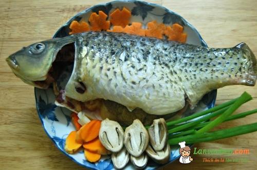 Cá chép kho nghệ, món ngon bổ dưỡng cho bà bầu