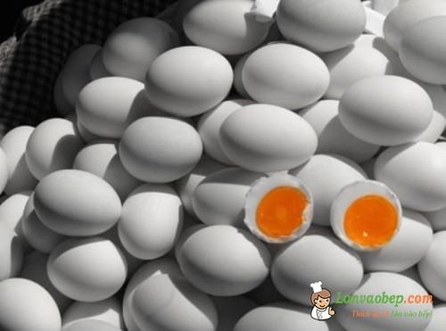 Trứng vịt - Món ăn đặc sản của Campuchia