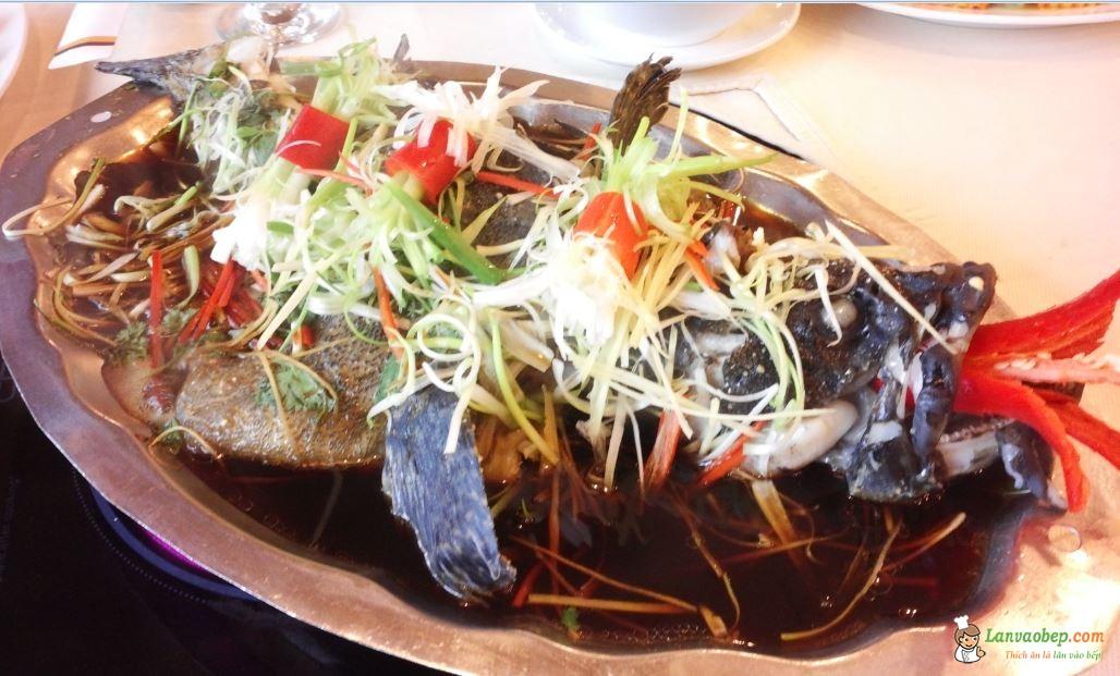 Cách làm cá chép hấp xì dầu