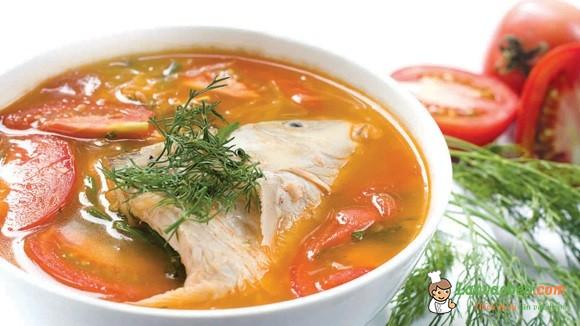 Bồi dưỡng cho bà bầu món canh cá chép thơm ngon