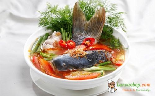 Canh riêu cá chép, món ngon vùng quê miền Bắc