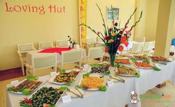 Quán buffet chay Loving Hut cho người ăn chay ở Hà Nội