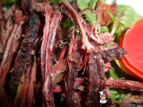 Học làm thịt trâu gác bếp Sơn La tại nhà