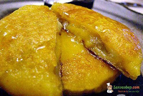 Bánh khoai lang nhân chuối ngọt ngào miễn chê