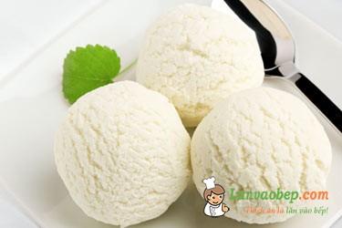 Cách làm kem vani thơm ngon vị truyền thống