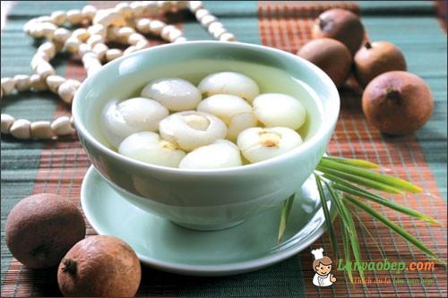 Học nấu chè long nhãn hạt sen – Dinh dưỡng cho gia đình