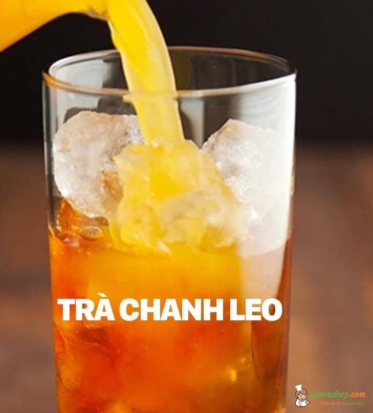 Tự pha chế trà chanh leo vàng ươm ngọt mát ngày hè