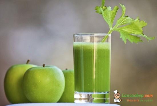 Cách làm sinh tố chanh táo giải khát mùa hè
