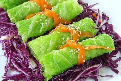 Bắp cải cuốn, món ngon thay món rau luộc