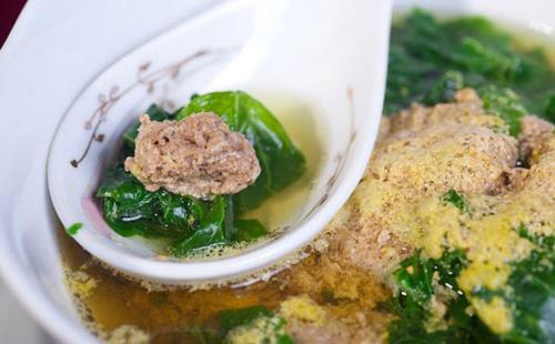 Cách nấu canh cua rau cải thanh mát cho bữa cơm ngày hè