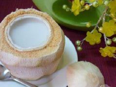 Thạch dừa 2 lớp