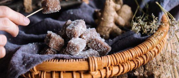 Bánh nếp vị gừng ngọt ấm cho ngày lạnh