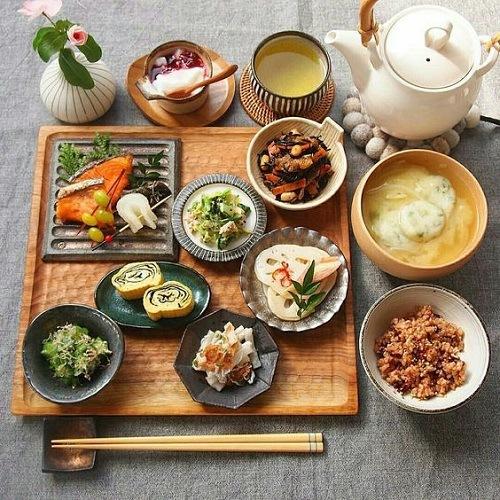 6 nguyên tắc ẩm thực vàng của người Nhật để sống thọ